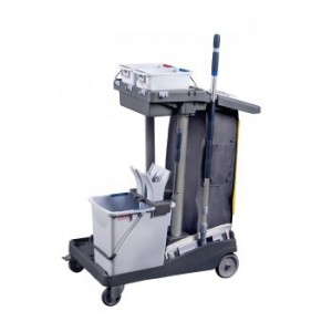 Voleo Pro Janitorial Cart Image 1