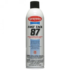 Sprayway Fast Tack 87 General Purpose Mist Adhesive Image 1