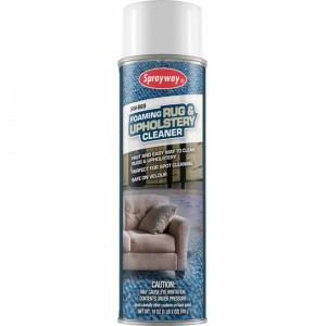 Sprayway Foaming Rug & Upholstery Cleaner Image 1