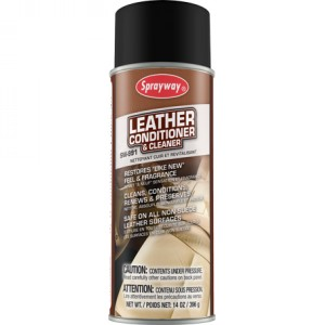 Sprayway Leather Cleaner & Conditioner  Image 1