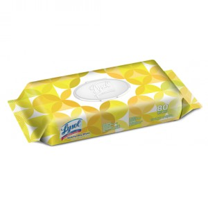 Lysol Wipes - Citrus (Flat Pack) Image 1