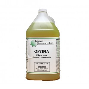 Optima - Lemon Scented Cleaner Image 1