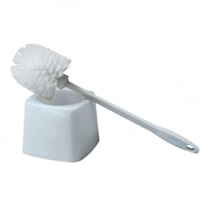 Plastic Bowl Brush with Holder Image 1