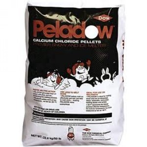 94% Calcium Chloride Pellets 50lbs. Image 1