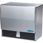 Frost Universal Towel Dispenser - Stainless Steel