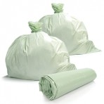 17 x 17 Commercial Compostable Liners