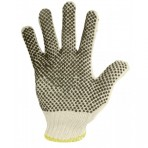 Poly/Cotton Gloves with PVC Dots